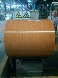 Chinese Factory Wooden Coated Prepainted Steel Sheet pictures & photos