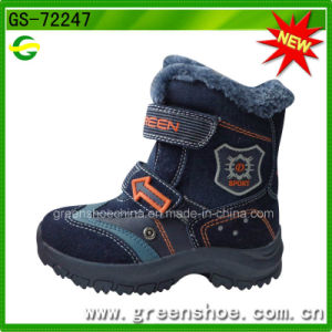 New Fashion Boy Snow Boots, Children Winter Boots pictures & photos