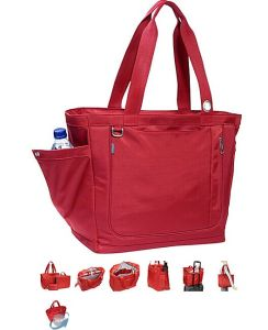 New Fashion Pink Savvy Laptop Tote Bag