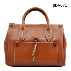 European and American Brown Wintage Fashion PU Bag (BDM026) pictures & photos