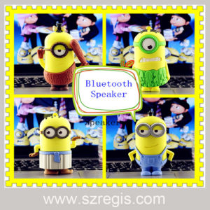 Creative Mini Cartoon Small Yellow People Stereo Wireless Bluetooth Speakers pictures & photos