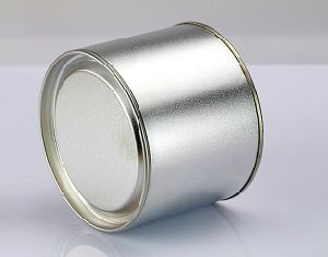 Tin Cans for Tea in Silver or Golden Color pictures & photos