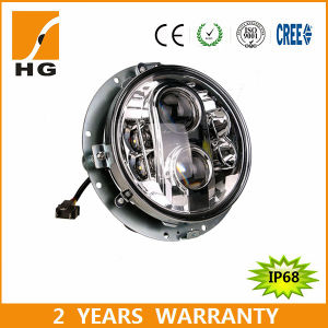 E-MARK 7inch LED Headlight for Jeep Harley Motorcycle pictures & photos