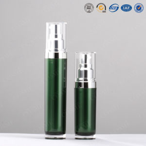 15ml 30ml 50ml 80ml 120ml Cylinder Round Plastic Acrylic Double Wall Cosmetic Cream Bottle pictures & photos