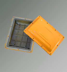 Anodized and Powder Coated Surface Aluminum Casting Box pictures & photos