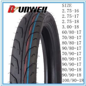 Motorcycle Tubeless Tires 80/90-18 90/90-18 100/90-18 pictures & photos
