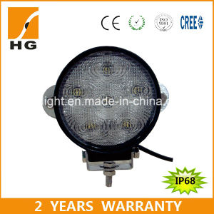 4.6inch 18W Round Epistar LED Work Light for Truck Offroad pictures & photos
