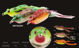 New design Soft Body Frog Fishing Lure Soft Lure Frog Lure pictures & photos