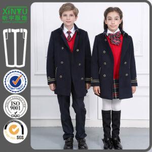 2016 Fashion Cheap Primiary Wool Coat School Uniform Factory pictures & photos