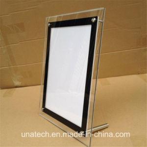 Magnetic Crystal LED Strip Indoor Media Backlit Film PP Paper Light Box Billboard pictures & photos