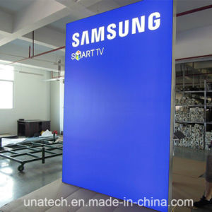 Framless Indoor LED Backlit Bank Branches Banner Plastic Trip Tension Advertising Media Light Box pictures & photos