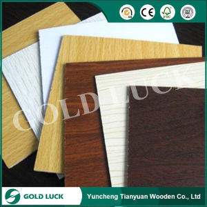 18mm Melamine Faced MDF Board pictures & photos