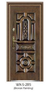 Competitive Steel Security Door (WX-S-285) pictures & photos