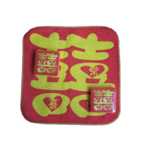 Square Shape Compressed Towel with Lion Printing (YT-660) pictures & photos