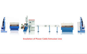 Insulation of Power Cable Extrusion Line Cable Making Machine pictures & photos