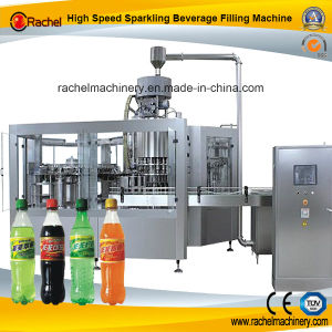 Automatic Sparkling Beverage Juice Filler pictures & photos