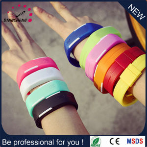 New Hot Sale Promotion LED Watch with Silicone Band (DC-1115) pictures & photos
