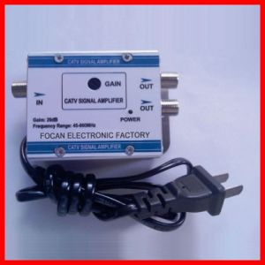 2 Ways CATV Amplifier for Antenna and TV pictures & photos