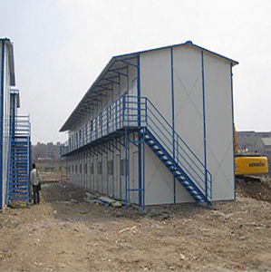 China High Quality Cheap Sandwich Panel Prefab Houses pictures & photos
