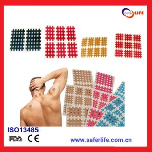 2014 Tearable Medical Acupuncture X Pain Bandage Cross Tape Cross Kinesiology Tape Original Spiral Tape Acupuncture Tape pictures & photos