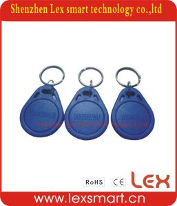 Large 13.56MHz Custom Plastic Key Ring Fob
