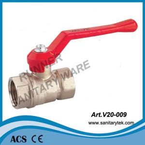 Standard Flow Rate Water Ball Valve (V20-009) pictures & photos