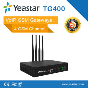 Yeastar 4 GSM Chanel VoIP Gateway with 4 SIM Card for GSM Terminal pictures & photos