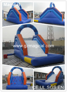 Kids Adult Game Inflatable Water Slide with Pool (MIC-275) pictures & photos