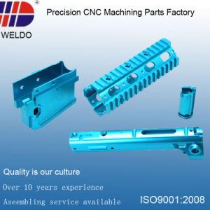 Blue Anodize Precision Aluminum CNC Milling Lathe Machinery Parts pictures & photos