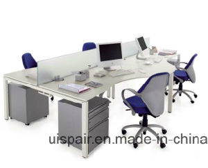 Uispair Modern High Quality MFC Board Staff Office Workstation Office Furniture pictures & photos