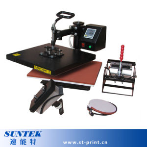 Multi-Function Newest Design 4 in 1 Combo Heat Press for Sublimation Transfer pictures & photos