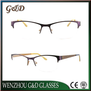 High Quality Metal Eyewear Eyeglass Optical Frame 52-080 pictures & photos