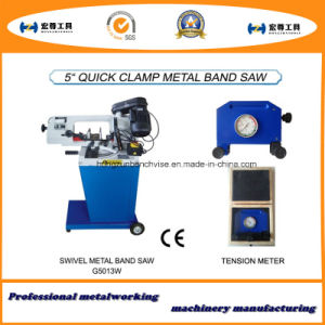 5′′ Quick Clamp Swivel Metal Sand Saw pictures & photos