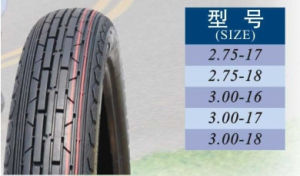 China Size 2.75-18 Tubeless Tyre for Motorcycle pictures & photos