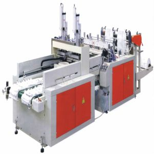 Full Automatic High Speed Plastic T-Shirt Bag Making Machine (WQR) pictures & photos