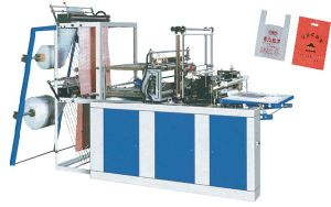 Dzb-500 Automatic High Speed Garbage Bag Making Machine pictures & photos
