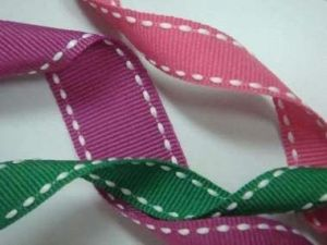 "1"" Double Stitched Grosgrain Ribbon pictures & photos"