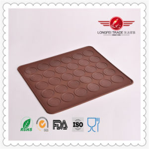 Nice Shaple Silicone Macaron Baking Mat pictures & photos