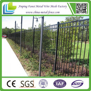 2015 Hot Sale Classic Wrought Iron Picket Fence Panel pictures & photos