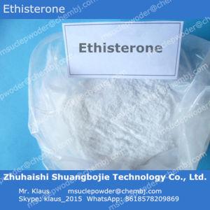 Progestogen Hormone Powder Ethisterone/ CAS 434-03-7
