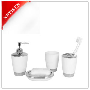 China sales acrylic plastic bathroom accessories set for Bathroom accessories plastic