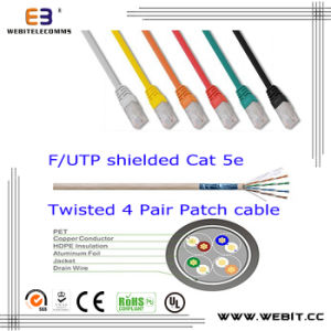 F/UTP Cat5e Patch Cord/Patch Cable pictures & photos