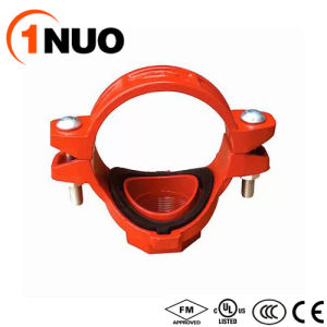 300psi Pressure Pipe Fittings Ductile Iron Threaded Mechanical Tee pictures & photos