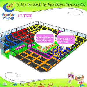 Superboy Kids Playground Trampoline with Foam Pits and Foam Blocks pictures & photos
