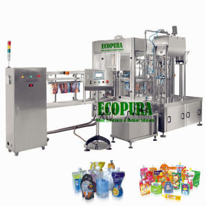 Automatic Spouted Pouch Filling Machine for Juice pictures & photos