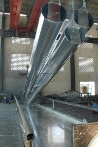HDG Power Line Steel Poles pictures & photos