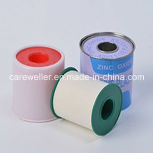 Adhesive Zinc Oxide Plaster Tape with Tin Package pictures & photos