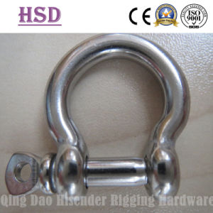 Stainless Steel European Bow Shackle of Rigging Hardware pictures & photos