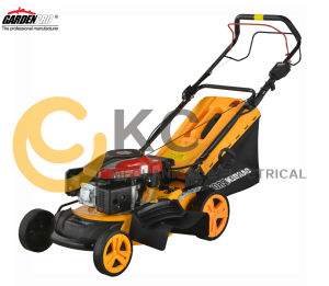 "4-in-1 18""/46cm Gasoline Powered Lawn Mower with Electric Start (KCL18SDP) pictures & photos"