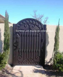 Reasonable Price of Wrought Iron Gate and Main Courtyard Gates pictures & photos